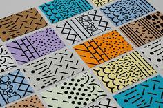 Creative Mind, Design, Graphic, Techniques, and Card image ideas & inspiration on Designspiration Graphic Design Agency, Graphic Design Studios, Graphic Design Illustration, Textures Patterns, Print Patterns, Geometric Patterns, Pattern Print, Tops A Crochet, Pattern Design