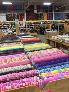 Zinnck's Fabric Outlet truly is a sewing enthusiast's paradise. Grab your fellow crafters and make a day trip out of it. Zinnck's Fabric Outlet truly is a sewing enthusiast's paradise. Grab your fellow crafters and make a day trip out of it. Sewing Hacks, Sewing Crafts, Sewing Tips, Sewing Ideas, Sewing Tutorials, Fabric Outlet, Leftover Fabric, Love Sewing, Fabric Shop