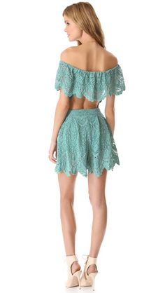 Nightcap Clothing Lace Poolside Romper