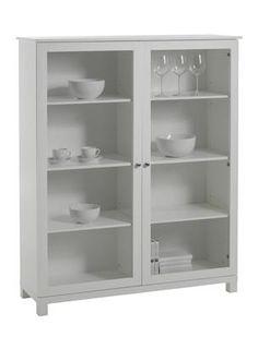 Vilma vitrineskap i hvit, cm Varenummer 80710003 kr 1995
