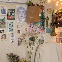 Room Ideas Bedroom, Bedroom Decor, Decor Room, Cute Room Ideas, Indie Room, Pretty Room, Room Goals, Aesthetic Room Decor, Cozy Room