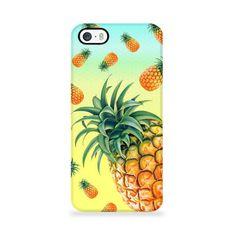 Coque Ananas - Pineapple - Jaune