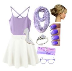 """""""Lavender Love"""" by sparklemaster ❤ liked on Polyvore"""