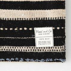 Khadi & Co Stripe Wool Blanket Textile Patterns, Textiles, Craft Room Design, Steven Alan, Living Spaces, Living Room, Winter Park, Carpet Flooring, Quilting Tips