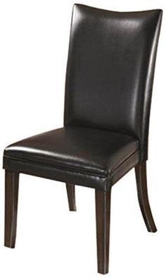 Ashley Furniture Signature Design Charrell Dining UPH Side Chair Black Set of 2