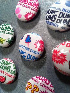 new set of original Dum Dum 1-in magnets