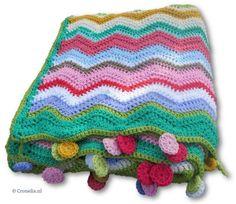 Spring ripple deken -> Online bestellen bij Cronelia.nl