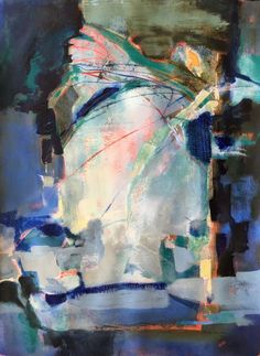 Two Sides – Evolution of an Abstract Painting ©Ruth Armitage