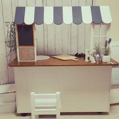yu3ko8さんの、部屋全体,木のおもちゃ,カウンターキッチン,カフェ風,おままごとキッチンDIY ,のお部屋写真