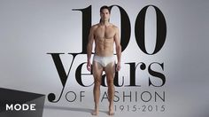 From seersucker suits and double-breasted blazers to Greased Lightning and hipster chic, we're giving you 100 years of men's fashion in less than three minutes. This is one history lesson—and hot bod!—you don't want to miss.