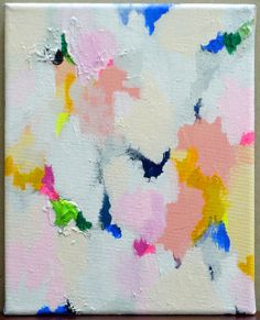 Original Abstract Painting, Acrylic on Canvas, Small, with Texture