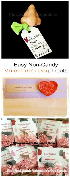 Easy Non-Candy Valentine's Day Treats