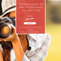 Photographer's Must Read: Tips on becoming the real photographer you want to be At the beginning of my career I struggled with who I was going to be as an artist. I put more weight on the number of clients than the memories or days that I captured. I wasn't thinking of my relationship with the camera or the photographs. I was focused on how many sessions a……