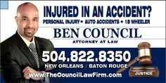 New Orleans Personal Injury, Auto Accidents & 18 Wheeler Attorney