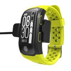 NEW ARRIVAL - Bluetooth GPS Smart Band IP68 Waterproof Smart Wristband Heart Rate Fitness Tracker Bracelet Pedometer