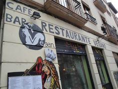 Tasty and affordable vegan food at Hicuri in Granada, Spain