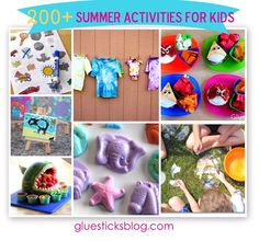 200+ Summer Activities for Kids!