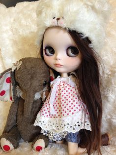 Cute doll....even has.an elephant.  <3
