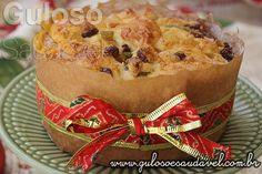 Este Panetone Caseiro Sem Glúten e Sem Lactose vai deixar o seu Natal ainda mais festivo e delicioso!  #Receita aqui: http://www.gulosoesaudavel.com.br/2015/12/16/panetone-caseiro-sem-gluten/