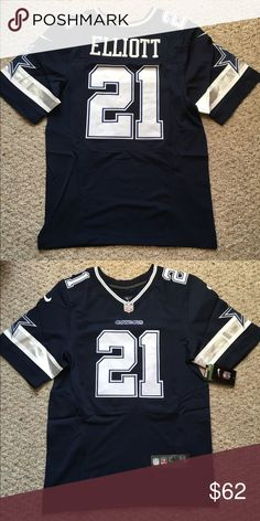485286644 Dallas Cowboys men s jersey with Ezekiel Elliot 🏈 Brand new with tags with  a DEFECT on