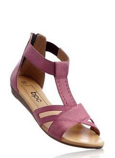 Ledersandale, bpc bonprix collection, pink