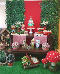 Aluguel Decoração-Chapeuzinho Vermelho   Convites e Festas   Elo7
