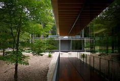 Kuma Kengo Architecture: Glass/Wood House