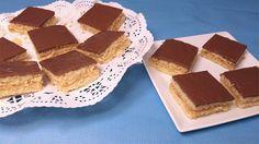 Pastelitos de coco y chocolate