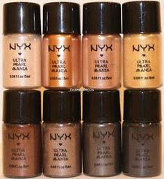 Nyx Loose Pearl Eyeshadows