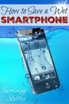 Did your phone just go for a dip or do you want to be prepared for when it does? Check out this short video on how to save your wet smartphone!