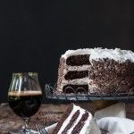 Black and Tan Stout Cake