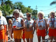 Funny Halloween Costumes--retired Hooters waitresses (click on the picture for link)