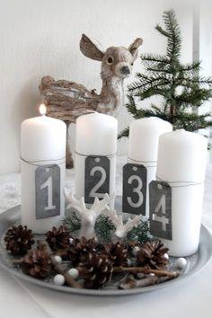 Weihnachtsdeko Minimal