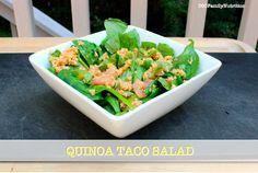 """A delicious healthy 'Quinoa Taco Salad"""""""