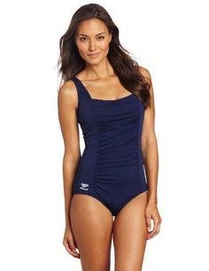 2b4c73bf69a8f Speedo Women`s Endurance Plus Shirred Tank Swimsuit  59.92 One Piece  Swimsuit