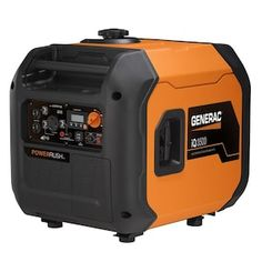 Generac Gasoline Portable Generator at Lowe's. The portable inverter generator lets you bring power wherever you go from tailgating parties to camping trips, the jobsite and beyond.The durable, Generators For Sale, Electric Generators, Portable Inverter Generator, Ac Units, Gasoline Engine, Tractor Supplies, Electric Motor, Tailgating, Website Company