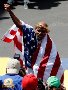 Meb Keflezighi is first American man to win Boston marathon in years