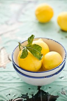 Meyer Lemons by tartelette, via Flickr - lemon cream cheese filling for macarons
