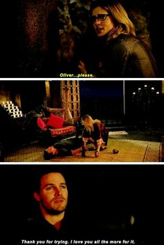 Arrow - Felicity & Oliver #3.20 #Season3 #Olicity ♥