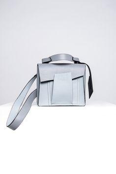 AW'17 Shift Collection Symmetry Design, Aw17, Leather Shoulder Bag, Shoulder Bags, Linda, Serenity, Clutches, Milk, Crochet Shoulder Bags