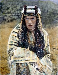 T.E. Lawrence (1888-1935) photo by Granger