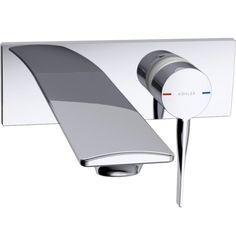 Stance Wall Mount Basin Mixer & Other Basin Tapware in Kohler Quality Wall Mounted Basins, Bath Mixer, Basin Taps, Contemporary Design, Mixers, Home Decor, Decoration Home, Room Decor, Interior Decorating