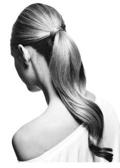 smooth voluminous ponytail // glammed up version of the everyday ponytail! Sleek Hairstyles, Ponytail Hairstyles, Pretty Hairstyles, Wedding Hairstyles, Voluminous Ponytail, Sleek Ponytail, Perfect Ponytail, Curly Hair Styles, School Hairstyles