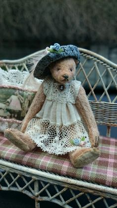 Colette, made for Teddy Bears of Witney