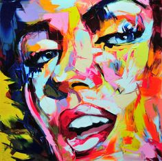 Francoise Nielly Creates Fascinating Palette Knife Paintings trendhunter.com