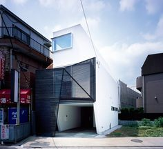 Sign House, Tokyo, Japan by Apollo Architects. (2013)