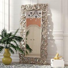 trendy bedroom mirror makeover home decor Metallic Wallpaper, Wallpaper Roll, Rustic Full Length Mirror, Spiegel Design, Diy Mirror, Mirror Ideas, Wall Mirrors, Floor Mirrors, Bedroom Mirrors