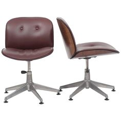 Pair of Ico Parisi Office Chairs