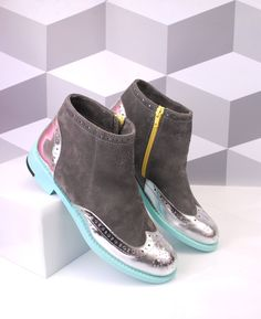 Original ABO ankle boots available at WWW.ABO-SHOES.COM #abo-shoes #ABO #shoes #brogues #style #fashion #streetstyle #boots #ankleboots #musthave #fashion #belgrade #handmade #design #silver #original #boots #womensshoes #ancleboots #suede #grey #silverandgrey #mint