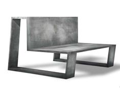 Concrete chair by Carine Stelte